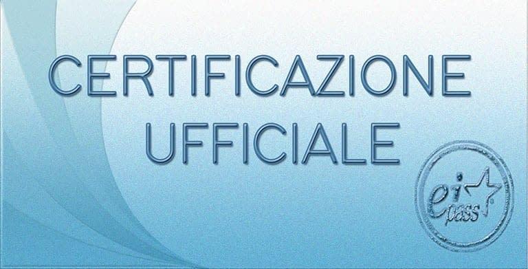 Corsi certificati Eipass Caserta